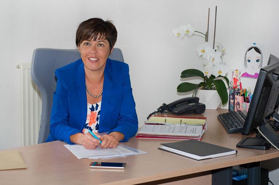 Sabinet DALLE responsable service social du cabinet d'expertise comptable à Mende, Marvejols et Langogne